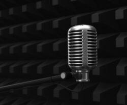 Ljudisolering med mikrofon
