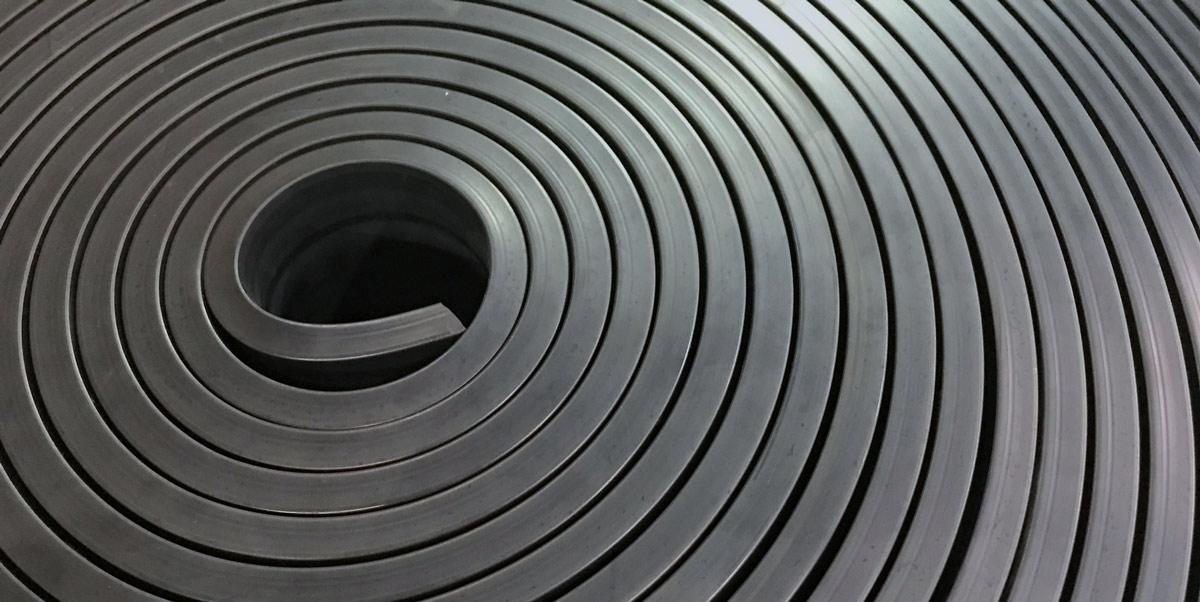 LDPE-gummi på rulle